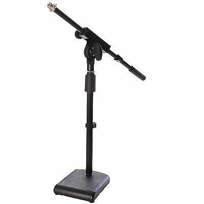 LyxPro KDS-1 Kick Drum Mic Stand, Adjustable Microphone BoomStand