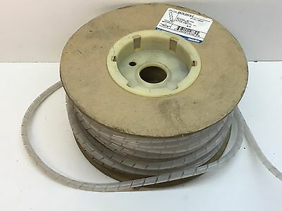 "100ft Thomas & Betts SRPE-250-9-C Catamount Polyethylene Spiral Wrap 1/4"" OD"