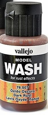 Model Wash for Rust effects - 1 bottle - Made in USA - Model Trains HO N O