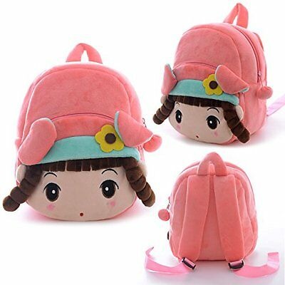 Kids Plush School Backpack Shoulder Cartoon Bag Baby Girl Gift Toddler Travel