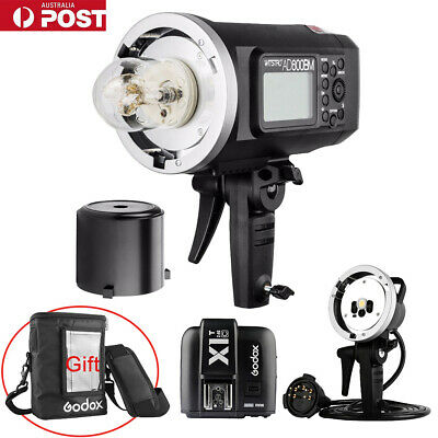 AU Godox AD600BM HSS Flash + X1T-C Trigger + AD-H600B Flash Head + PB-600 Bag