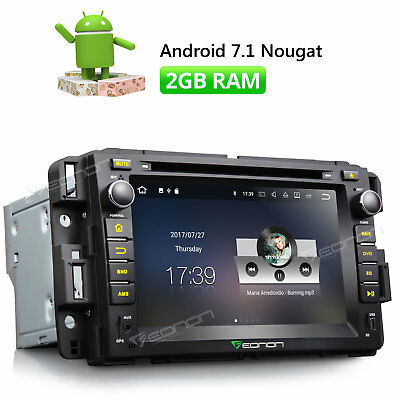 """7"""" Android 6.0 Car DVD Player Stereo GPS Touch Screen W for Chevrolet GMC Buick"""