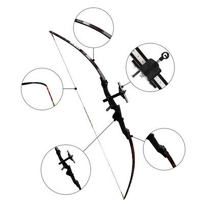 Hunting Archery Sight Longbows Compound Bow Arrow Straight Pull Target Practice