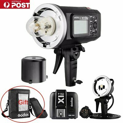 AU Godox AD600BM HSS Flash + X1T-S Trigger + AD-H600B Flash Head + PB-600 Bag