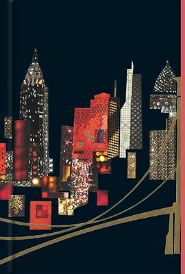 A5 New York City Cased Notebook With Magnetic Closure