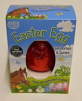Hatchwell Carob & Peppermint Easter Egg for Horses & Ponies 60g 5024703001848
