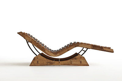 Chaise Longue MICHELE Barrique San Patrignano design Figini Erasmo