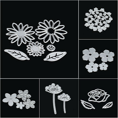 Metal Cutting Dies Stencil DIY Scrapbooking Embossing Album Paper Card Craft Set
