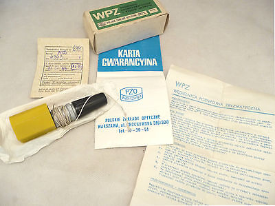 NOS, PZO, Double prism optical squares, 1979 year