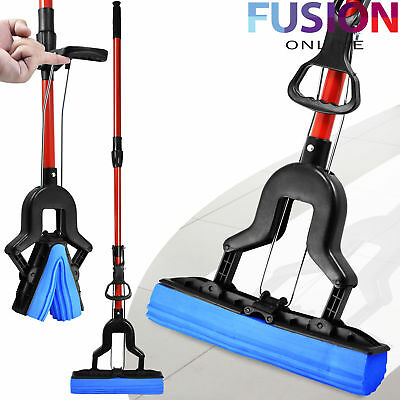 Sponge Mop Cleaning Super Absorbent Laminate Floor Telescopic Sponge Handle P6