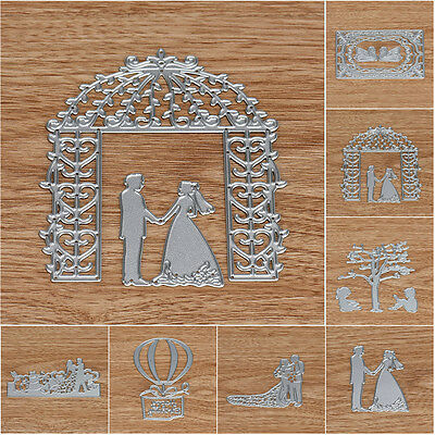 Wedding DIY Scrapbooking Metal Cutting Dies Stencils Paper Card Craft Handmade