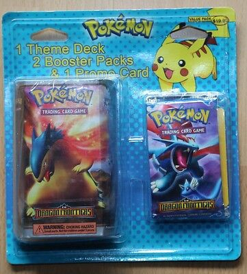 Pokémon EX Dragon Frontiers Theme Deck Booster Promo Card Blister factory sealed