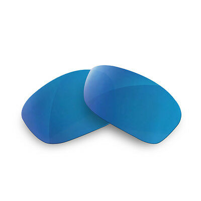Fit&See Polarized Blue Replacement Lenses for Oakley Scalpel