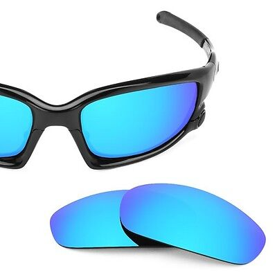 Fit&See Polarized Blue Replacement Lenses for Oakley Split Jacket