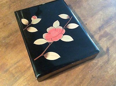 Japanese Lacquer Box, C1920'S