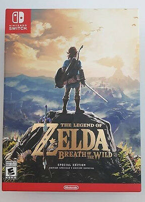 The Legend Of Zelda Breath Of The Wild Nintendo Switch Special Edition Brand New