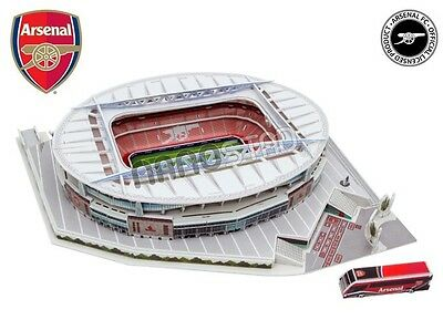 Arsenal Emirates Stadium ~ 3D Jigsaw Puzzle ~ Official Licensed Product
