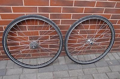 90s touring wheels 700c MAVIC Module 3D MONTE/OEM Shimano DEORE LX DX VIA Japan