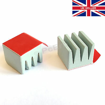 2pcs Ceramic HeatSink  40~51W/mK  12x12x10mm