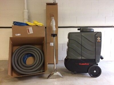 KLEENRITE HEATED CARPET EXTRACTOR PACKAGE *GREAT DEAL** Portable Carpet Cleaner