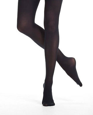 Capezio N14 Black Women's Extra Large Hold & Stretch Footed Tights
