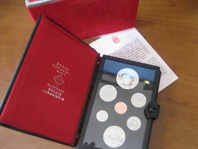 1975 Canada Dollar Silver Canadian Royal Mint Proof Coin Set