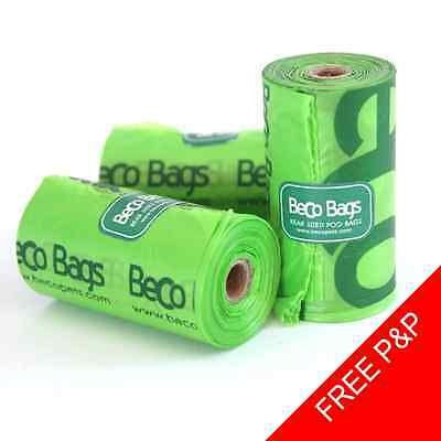 Beco Biodegradable Dog Poop Poo Bags - Strong - Great Value - FREE Delivery