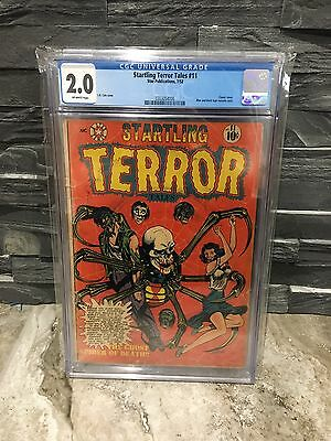 Startling Terror Tales #11 CGC 2.0 OFF WHITE PAGES