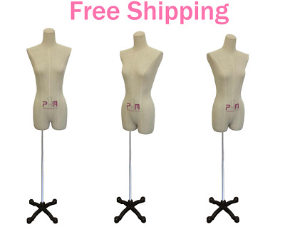 Ladies Lingerie Professional Dress Form Mannequin Garment Clothing Display 602F