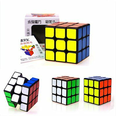 3x3x3 Speed Twist Puzzle Magic Cube Classic Cube Mind Game Education Toy Gift