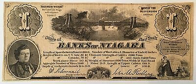 BANKS of Niagara, Niagara Falls, NY - ($1) 1 View Advertising Note - Roebling