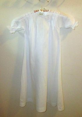 Sweet White Vintage Infants/Doll Gown/Dress #6