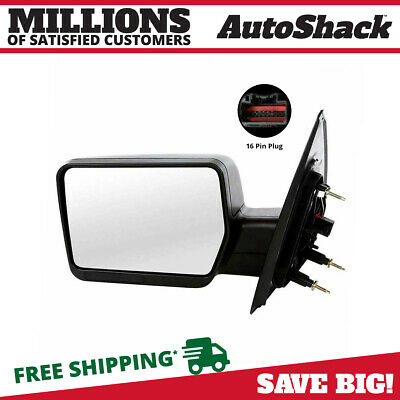 New Left Drivers Side Power Non-Heated Foldaway Side Mirror for 04-08 Ford F-150