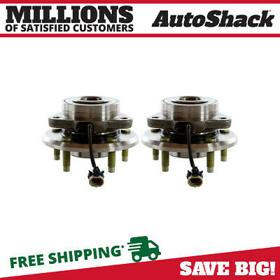 2 Premium Front Wheel Hub Bearing Assembly Pair fits Chevy Pontiac Saturn Suzuki