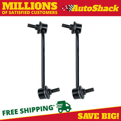 Auto Shack Front Sway Bar Pair 11.8 Inch Overall Length