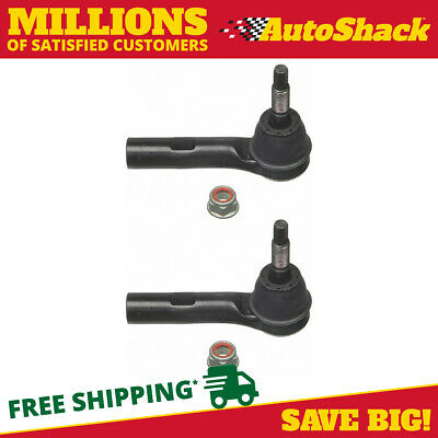 2 PREMIUM OUTER TIE ROD ENDS PAIR fits LEFT DRIVER AND RIGHT PASSENGER SET KIT
