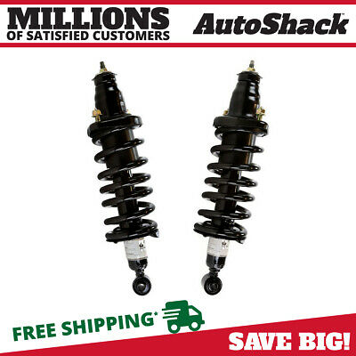 New Pair of 2 Quick Install Complete Rear Strut Assemblies for 01-05 Honda Civic
