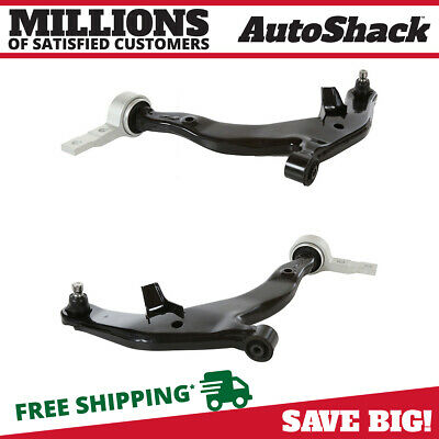 Pair of 2 New Front Left and Right Lower Control Arms fits 03-07 Nissan Murano