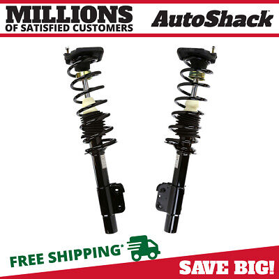 Rear Pair (2) Complete Strut Assembly w/Coil Spring For 99-2005 Pontiac Grand Am