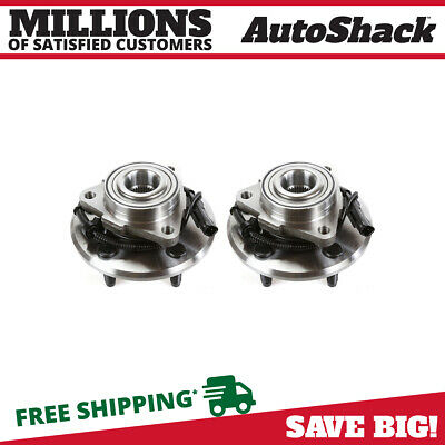 Left and Right Pair of Front Hub Bearing Assemblies fits 06-09 Dodge Ram 1500