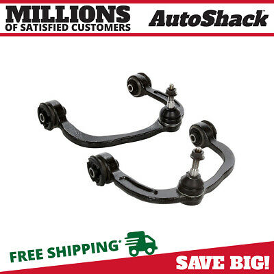 2 Front Upper Control Arm W/ Bushings And Ball Joints Left & Right Side Pair Kit