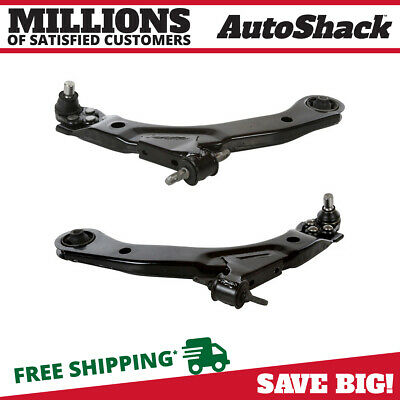 2 Front Lower Control Arms w/Ball Joint Bushings For Cobalt G5 HHR Pursuit w/FE1
