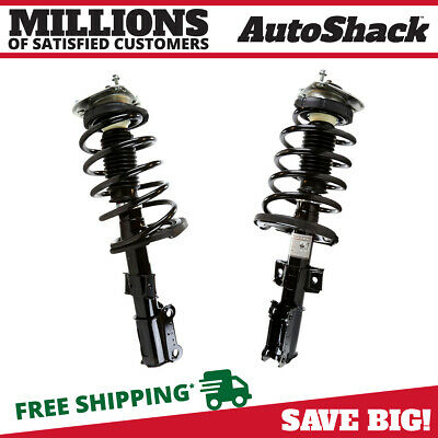 Front Pair (2) Complete Struts Assembly w/coil springs Fits 2001-2009 Volvo S60