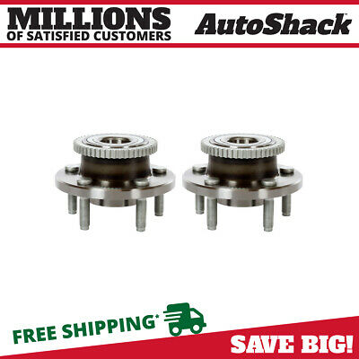 Front Hub Assembly Pair for 2005-2008 2009 2010 2011 2012 2013 2014 Ford Mustang