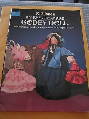 GODEY DOLL book -Instructions/Ready to Use Patterns