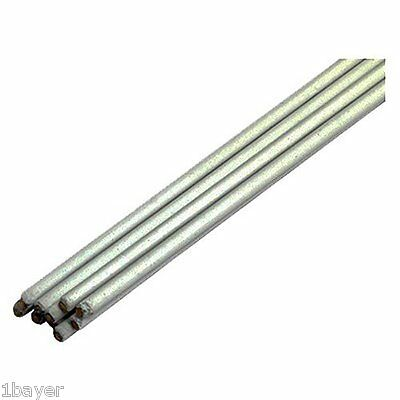 """Forney Home 18"""" Tensile Strength Ductility Flux Coated Bronze Brazing Rod"""