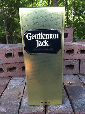 Jack Daniels Limited Edition Gentleman Jack Gold Box Only