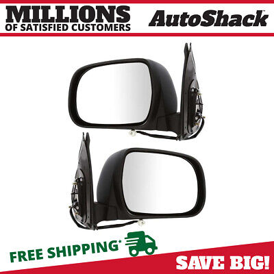 Power Paint to Match Folding Side View Mirror Pair for 2005-2010 Toyota Tacoma