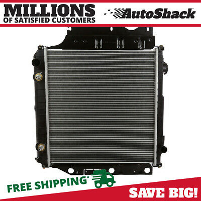 New Direct Fit Complete Aluminum Radiator 2.4L 2.5L 4.0L for 97-06 Jeep Wrangler