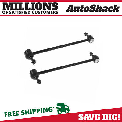 New Pair Of (2) Sway Bars fits 2004-2009 Buick Chevrolet Pontiac